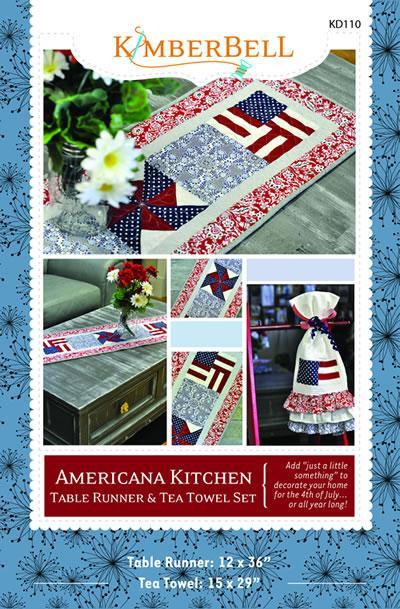 Americana Table Topper Pattern on Bluprint