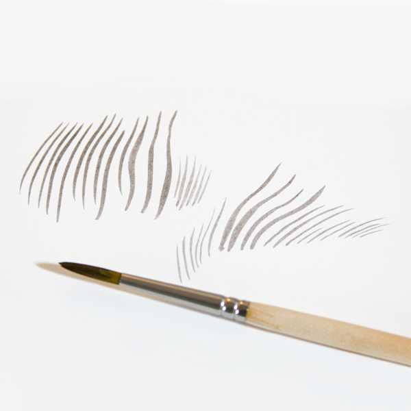 An extra sheet of paper for practicing your strokes