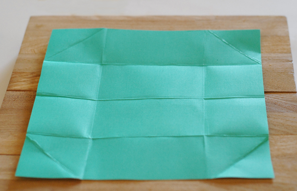 Folding Paper to Make Homemade Gift Card Holders