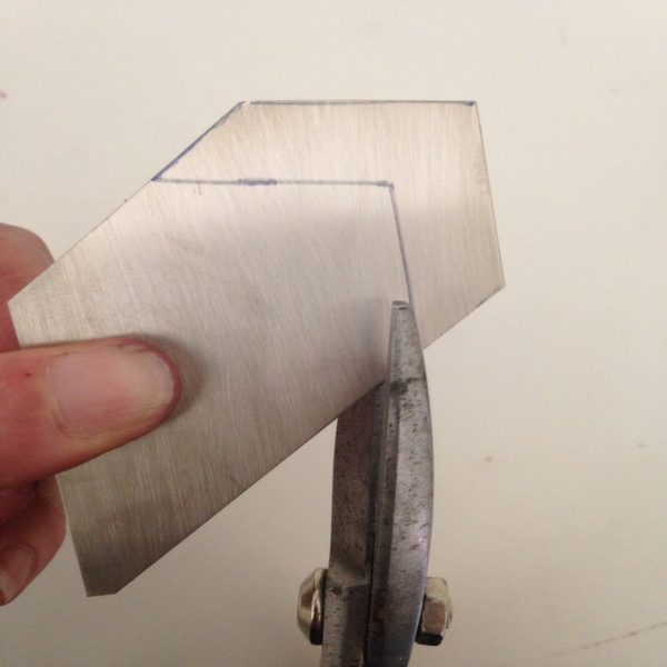 Cut your design out of sheet metal.