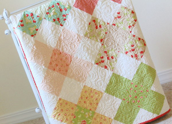 Large granny square quilt pattern
