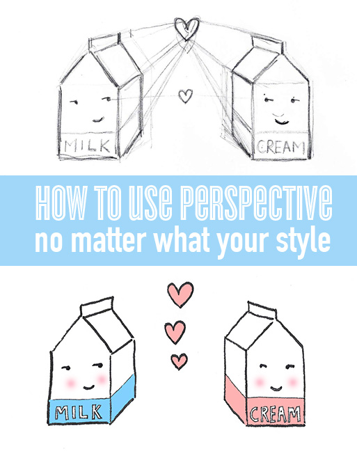 Perspective is effective for any style of art