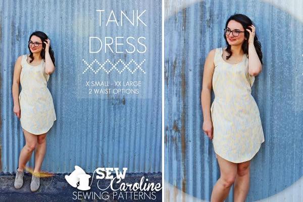 Simple Tank Dress & Pattern on Bluprint.com!