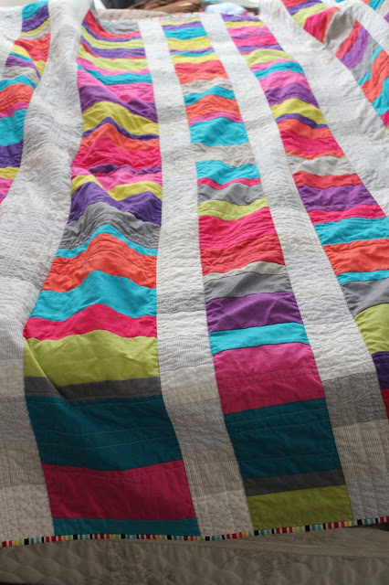 solids in quilt top