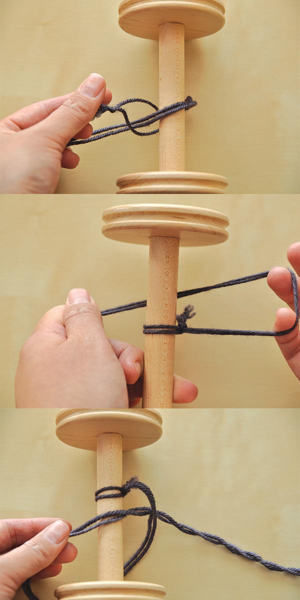 tying a loop leader
