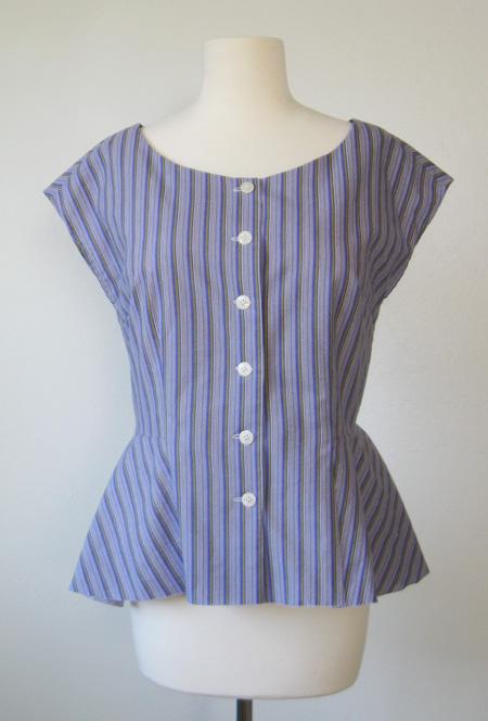 vintage style blouse