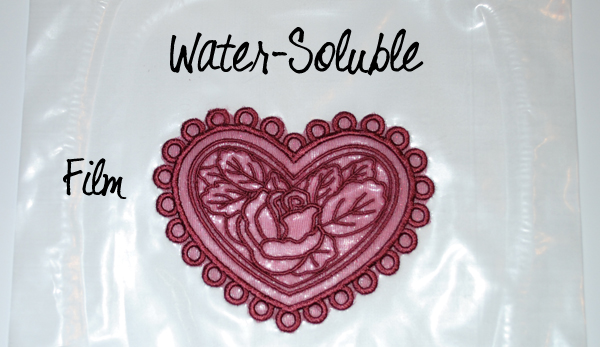 water soluble Solvy stabilizer