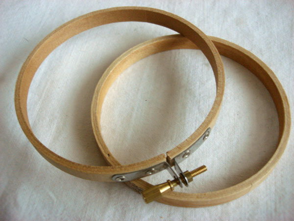 wooden hoop