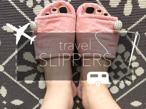 Hand-Sewn Travel Slippers