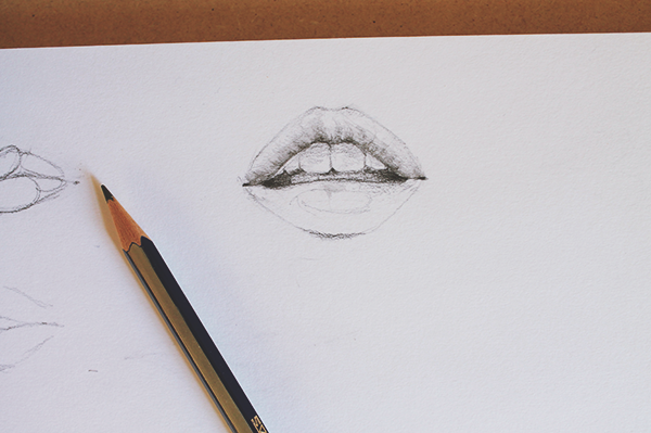 Drawing a Mouth Step 3