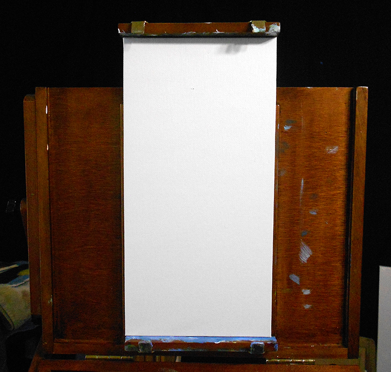 Easel set up