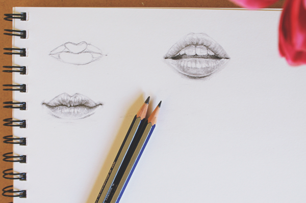 Two tutorials for how to draw mouths