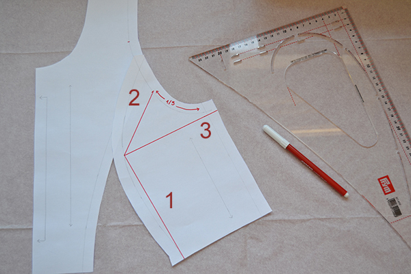 Marking your pattern piece