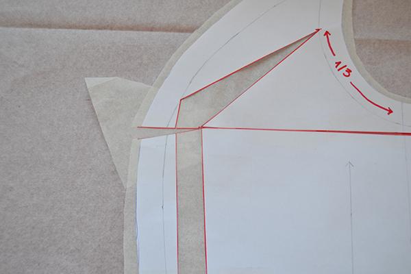 Making a FBA pattern piece