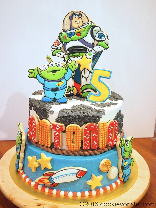 Toy Story Cookie Cake