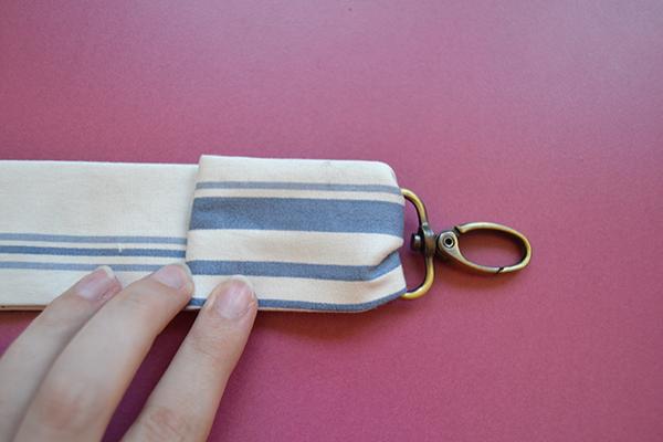 Folding removable straps
