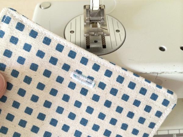 sew a buttonhole