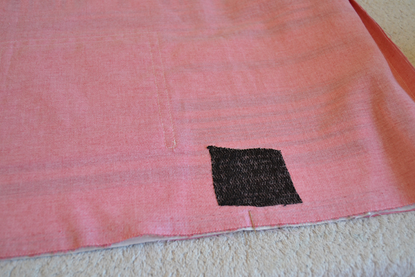 Adding lining to fabric