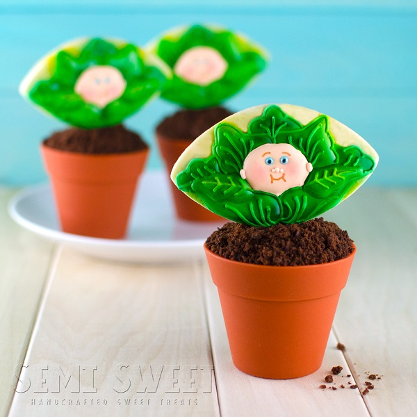 Cabbage Patch Cookie Cupcakes