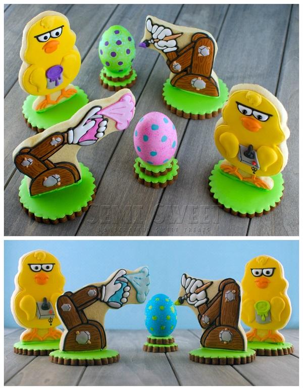 3-D Easter Cookies