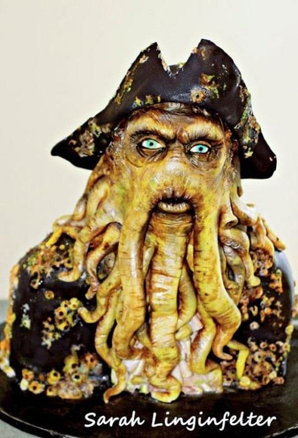Davy Jones cake
