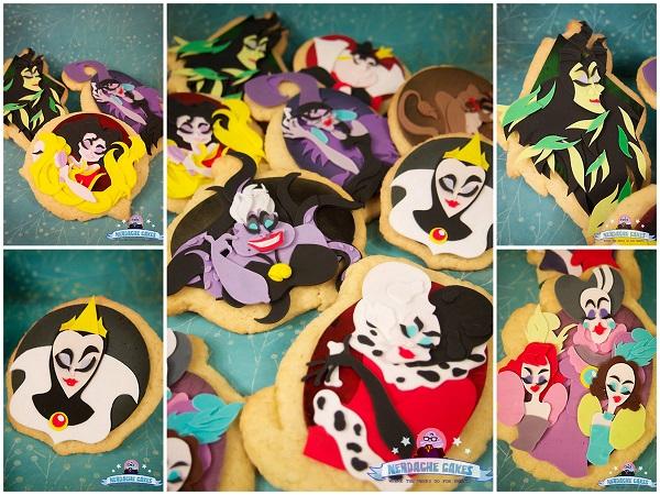 Disney Villains cookies
