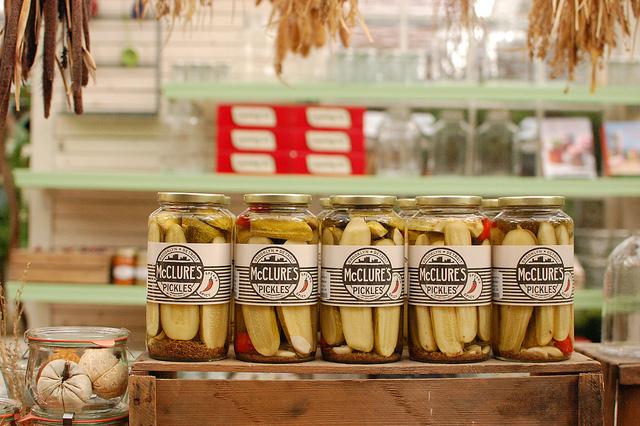 McClure's Pickles on Display