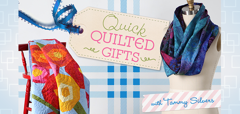 Quick Quilted Gifts -- New Quilting Class on the Bluprint Blog!