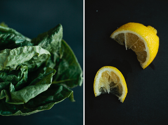 Romaine and Lemon