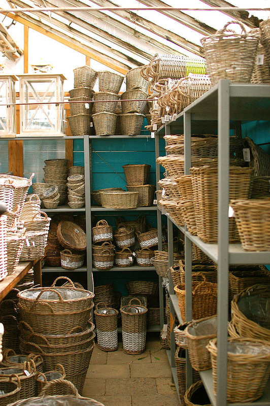 Collection of Baskets for Gardening