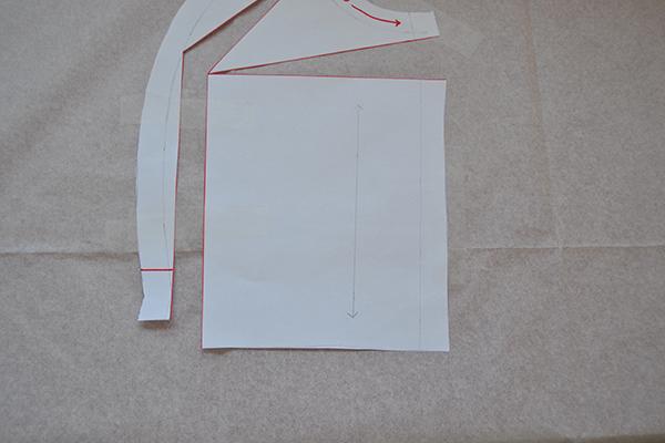 Draw parallel waistline