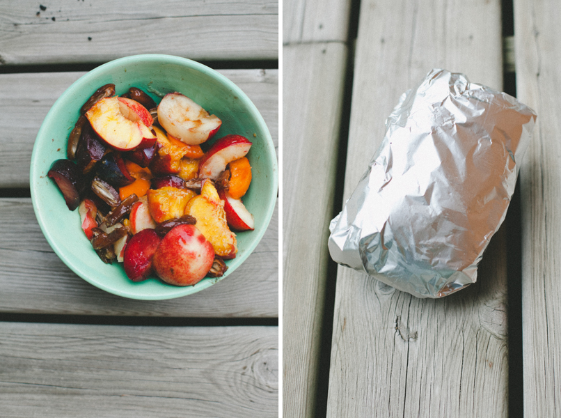 Juicy + sweet grilled stone fruits on Craftsy!