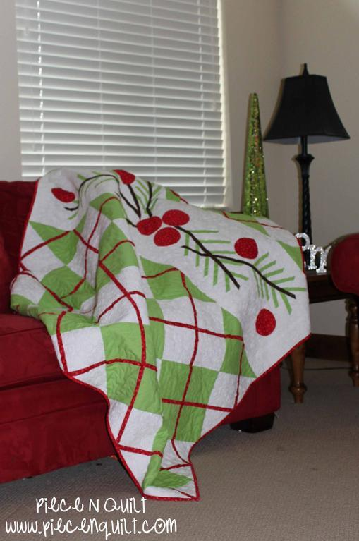 Argyle Christmas Quilt on Bluprint!