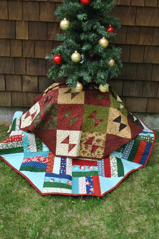 Oh Christmas Tree Layer Cake Quilting Pattern
