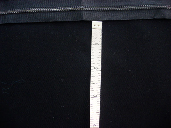 measuring monogram placement