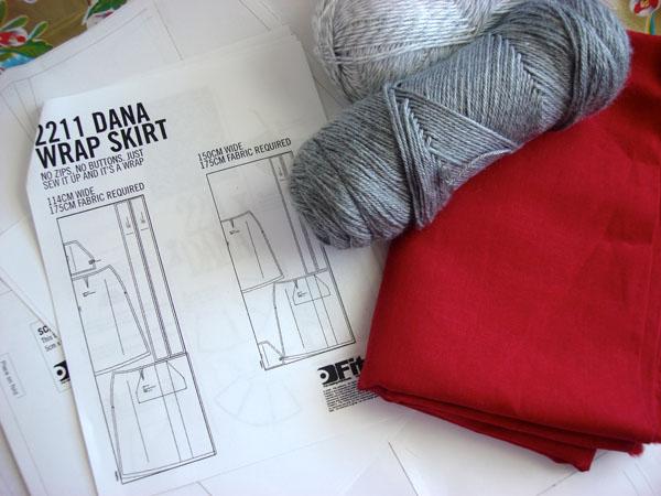 wrap skirt supplies
