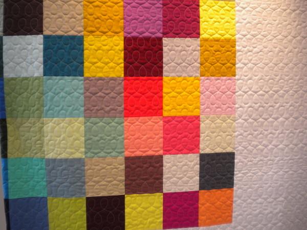 Inspirational quilt top