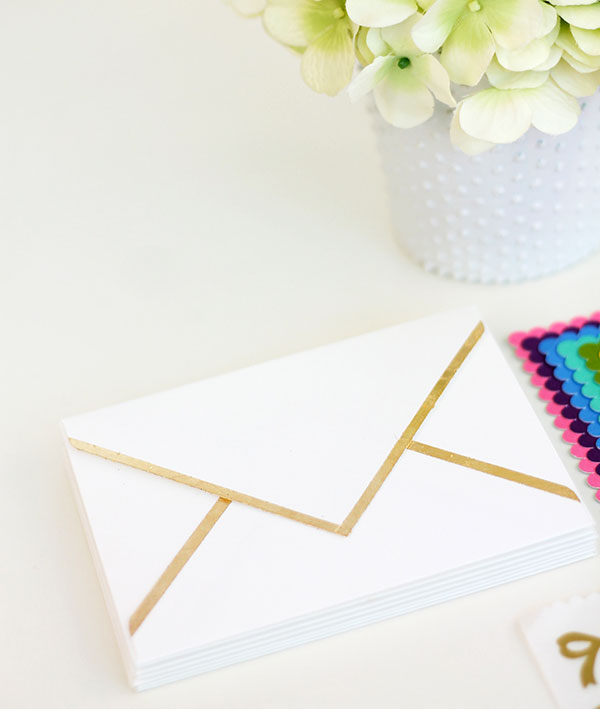 Envelope With Gold Edges
