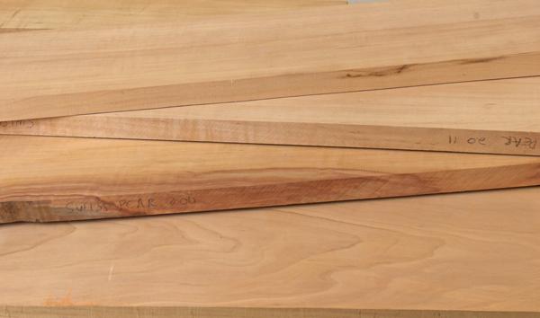 pear lumber