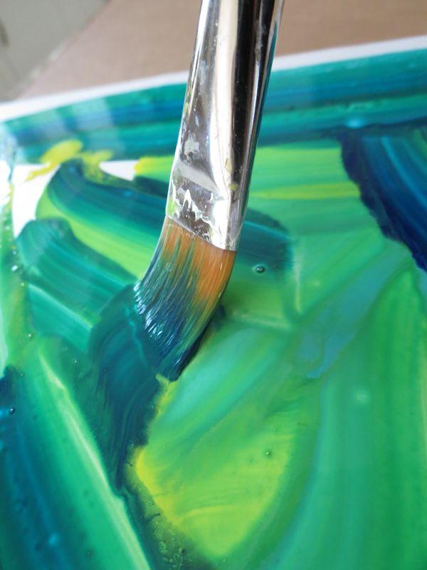 Mixing paint colors