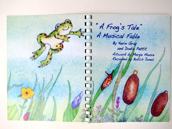A Frog's Tale -- Tips for illustrating picture books