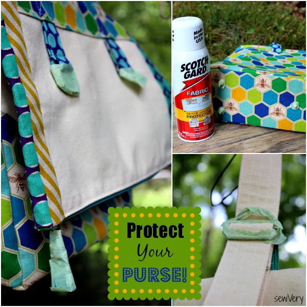 Protect Your Purse Using Spray Fabric Protector