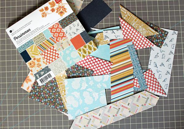 Patterned Paper Scraps