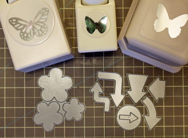 Supplies for Scrap Paper Embellishments