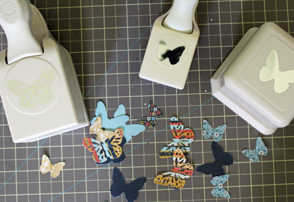Punched Out Butterflies