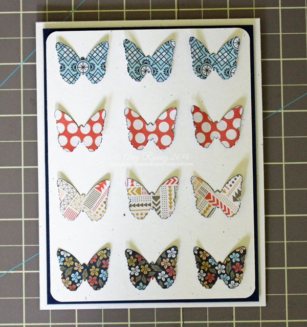 Finished Butterfly Card
