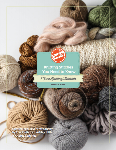 Knitting Stitches You Need to Know -- 7 Free Knitting Tutorials
