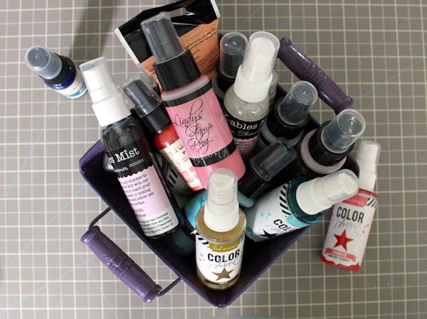 Basket of Color Sprays
