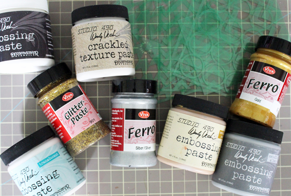 Embossing Pastes