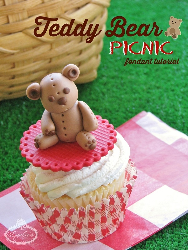 Teddy Bear Picnic fondant tutorial